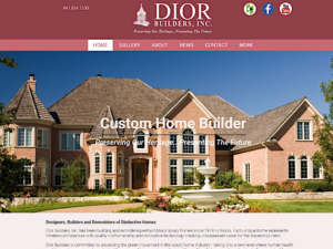 Dior Builders Inc Luxury Homes Chicago IL